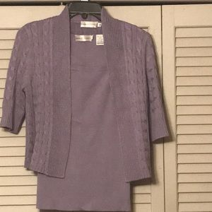 Ladies sweater set